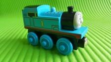 Thomas & Friends Magnetic Wood Train (THOMAS N0 1 - Blue)