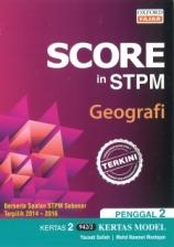 Score in STPM Model Paper Geografi Kertas 2 Penggal 2