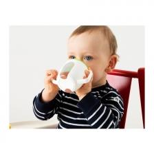 Baby Training Cup/ Beaker (white, Green)