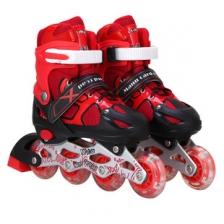 Kids Mann Card Road Outdoor Sport Inline Skater (RED) (S)