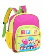 Pocoyo Cartoon School Bag /Backpack (Rose)