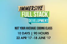 Immersive Full Stack Development