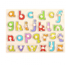 Educational Small Alphabet Wood Puzzle (A-Z)