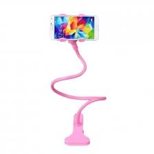 Lazy Mobile Hand Holder - Bed / Table Clip Mobile Holder (Purple) 85cm