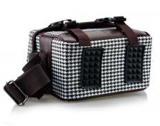 British Style Canvas Camera Sling Bag