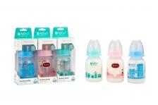 Babito Baby Feeding Bottle 4oz/120ml Charismata- Blue