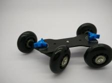 DSLR Skater Tabletop Dolly For Video Camera Shooting