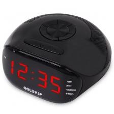 TRENDY DIGITAL ALARM , CLOCK , RADIO (BLACK)