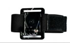 Adjustable Wrist Strap Fastener tape Mount camera accessories Wrist Strap for GoPro Go Pro Hero 1 2 3 3+ 4 Camera (Black)
