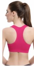 Women's Padded Sports Bras Racerback Seamless Workout Gym Fit Yoga Bra