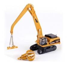 Kaidiwei 1:87 Die Cast Excavator Magnet Sucker Material Handler Metal