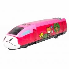 Sanrio Hello Kitty 7 inch High Speed Rail Red Model Genuine Die-Cast