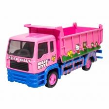 Sanrio Hello Kitty Die-Cast 6 inch Dump Truck Pink Genuine Product