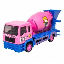 Sanrio Hello Kitty Die-Cast 6 inch Cement Mixer Truck Pink Genuine