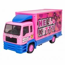 Sanrio Hello Kitty 6 inch Container Truck Pink Genuine Die-Cast