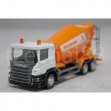 RMZ City DIECAST 1:64 SCANIA Cement Mixer Truck Orange Constructor NEW
