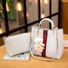 {JMI} 3 in 1 Luxurious Elegance HandBag 833# - 4 Colors~!