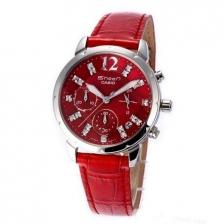 Casio SHEEN Ladies Watch-5010L-4A-RED DIAMOND