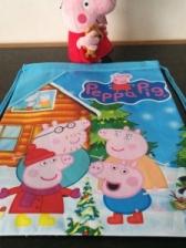 Peppa Pig Children Kids Kindergarden Backpack (Blue)