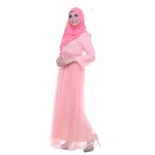 Alya Lace Tulle Dress