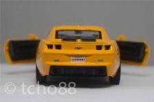 RMZ CITY 1:36 5' Die Cast Car Chevrolet Camaro Yellow Color Collection
