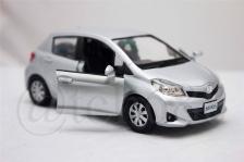 RMZ CITY 1:36 Die Cast Car Toyota Yaris Silver Color Collection