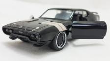 Jada Fast & Furious 8 1:32 DIECAST Dom''s Plymouth GTX Car Black Color Model