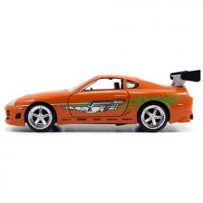 Jada Fast & Furious 8 1:32 DIECAST Brian''s Toyota Supra Car Orange Color Model