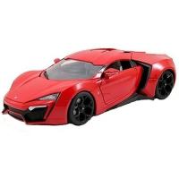 Jada Fast & Furious 8 1:24 DIECAST Lykan HyperSport Car Red Color Model