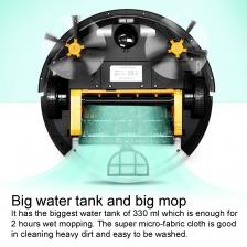 IROVA Mamibot PreVac 650 Dry / Wet Mop Robot Vacuum Cleaner with Wifi Control