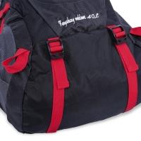 UNISEX PORTABLE BAG TRAVEL OUTDOOR BACKPACK (BLACK)