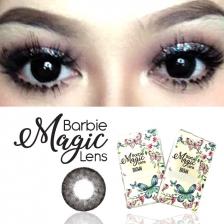 Magic Barbie Dolly Black Korean contact lens colored contact lenses 16mm 1 pair (compare amaze doll eos auralens)