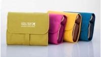 Korean Waterproof Toiletry Bag Multi Purpose Cosmetic Travel Kit Wash