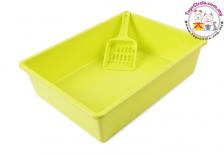 Open Cat Litter Box