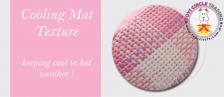 Grid Pink Pet Bed