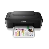 Canon Pixma E410 Color Inkjet Multifunction Printer (Black)