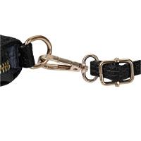 LICHEE SOLID COLOR TRAVEL BUSINESS PARTY HANDBAG SHOULDER MESSENGER BAG FOR LADY (BLACK)