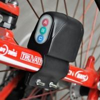 Bicycle ABC Password Bike Alarm Accessory Anti Theft Equipment