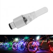Smart Sensor Color Changing Motorbike Bicycle Wheel Tyre Valve LED Light (2pcs) Car Bike Decoration