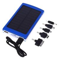 10000mAh Solar Power Bank Dual USB Output Charging Supply