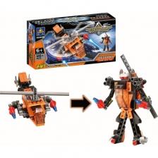 KAZI Deformations Speed King Super Robot LEGO Building Blocks Toy Gifts Childrean Birthday Present