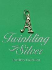 Fine 925 Silver Alphabet Pendant ( P F/ALPHABET )
