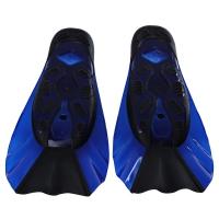 DIVING SHORT FLIPPERS SNORKELING SHOES (BLUE, SIZE XXS/XS/S/M/L)