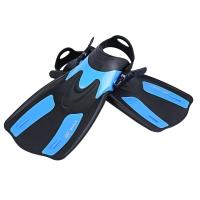 SNORKELING / DIVING SWIMMING FINS TREK (BLUE, SIZE M/XL)
