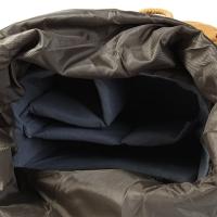 CAMERA BACKPACK RUCKSACK WITH INNER BAG FOR CANON NIKON DSLR (KHAKI)