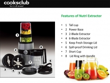 Cooksclub-Nutri Extractor NB600A