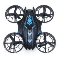 515V MINI RC DRONE RTF 0.3MP CAMERA / 2.4GHZ 4CH 6-AXIS GYRO / ALTITUDE HOLD (BLACK AND BLUE)