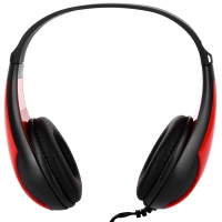 FE - 115 3.5MM DEEP BASS AUDIO PC GAMING HEADSET DRIVE-BY-WIRE HEADPHONES (BLACK)
