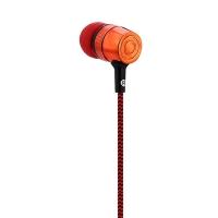 3.5MM PLUG STEREO MUSIC DEEP BASS IN-EAR EARPHONES HEADPHONES (RED)
