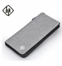 HK Long Zip Wallet